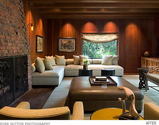Michael Merrill Design Studio - Mill Valley Living Room